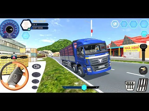 Truck Simulator Vietnam - Mobile Gameplay #1 - Truck Games | Android