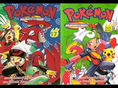 Pokemon rubis et saphir mini menu manga youtube - Pokemon saphir pokemon legendaire ...