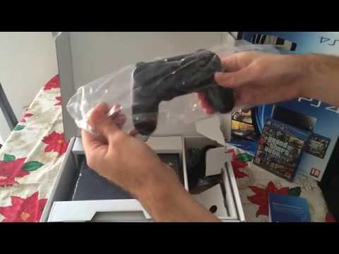 Playstation 4 Unboxing Gta 5 Bundle
