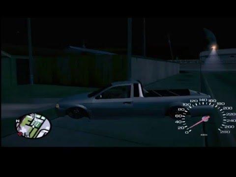 Rolê De Saveiro Rebaixada Na Madrugada GTA San Andreas