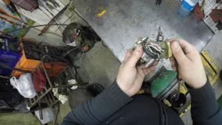 Гараж 56: Разбираем моторчик дворников Нива.