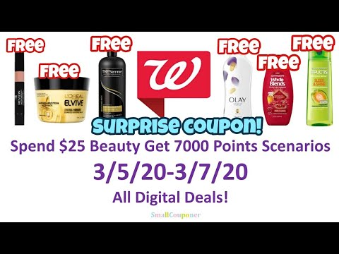 Walgreens Beauty Scenarios 3/5/20-3/7/20! All Digital Deals!