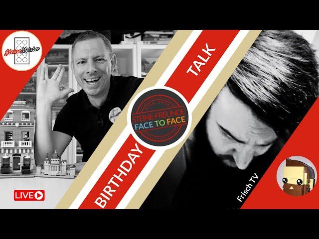 Frisch TV - Geburtstag Talk - Face to Face Steine-Freunde Talk