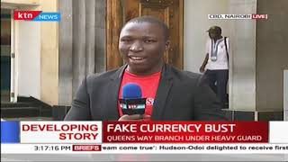 Latest updates on the fake currency bust at Barclays Bank
