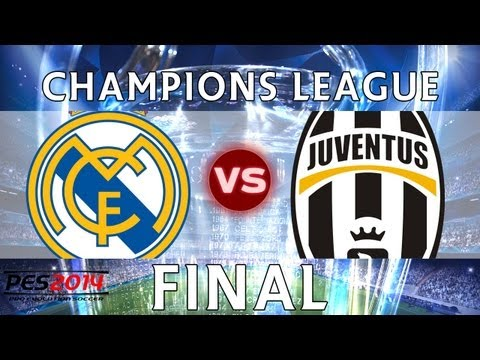 [TTB] PES 2014 - Real Madrid CL Series - Real Madrid Vs Juventus - CHAMPIONS LEAGUE FINAL!