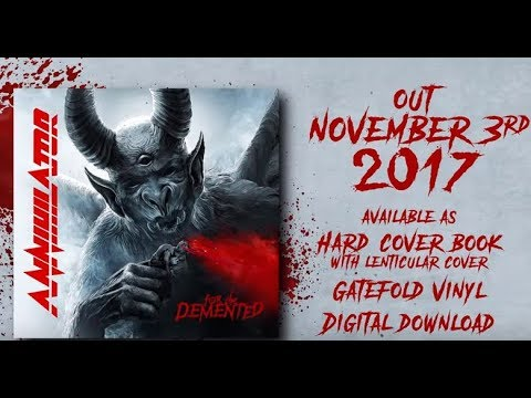 "ANNIHILATOR new album ""For The Demented"" trailer - Primus streams now song The Dream!"