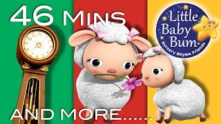 Learn with Little Baby Bum | Hickory Dickory Dock | Nursery Rhymes for Babies | Songs for Kids