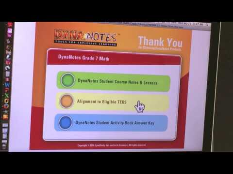 DynaNotes - Teacher's Workroom | Tools for Explosive