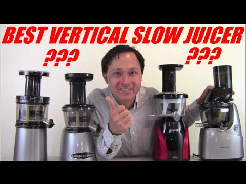 Best Vertical Single Auger Slow Juicer Comparison