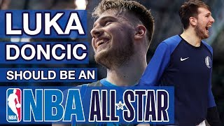 Luka Doncic should be an NBA ALL-STAR