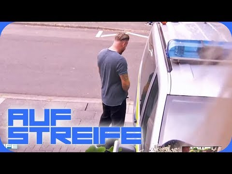 Einfach Dreist! Mann pinkelt gegen Streifenwagen | Auf Streife | SAT.1 TV