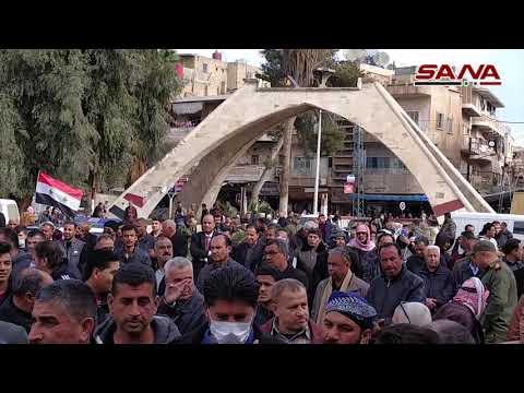 Hasakeh protesta contra