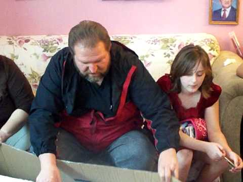 DAD shocked to Find a Gun Wrapped in a Christmas Tree Box!! Must See!!!!