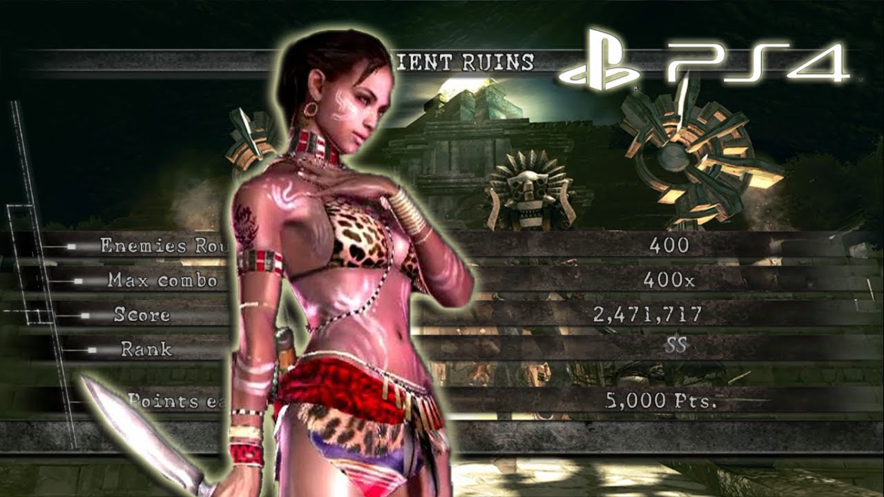 Resident evil 5 sheva tribal