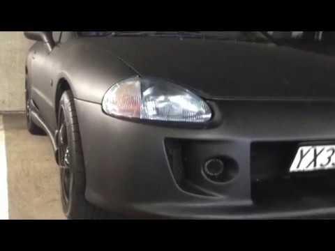 Honda CRX Del Sol Project