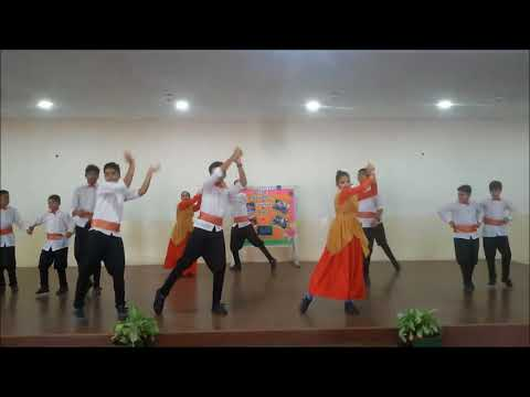 ISA international cultural dance - Folk dance of Australia.
