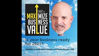 Is your business ready for 2021? MP Podcast Episode 31 with Cleve Clinton and Susan Bryant