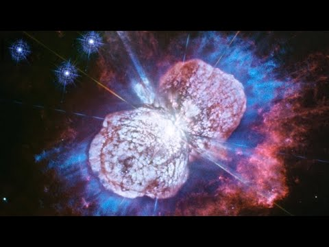 Stunning Cosmic Fireworks Display Captured by Hubble, Right on Time