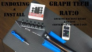 Unboxing & Install: Graph Tech Ratio Locking Machine Heads