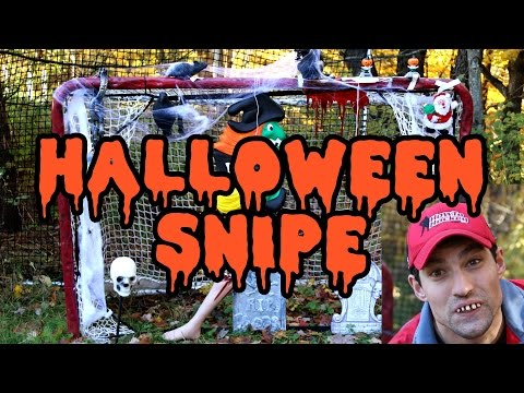 Halloween Snipe Challenge - Win Hockey Prizes