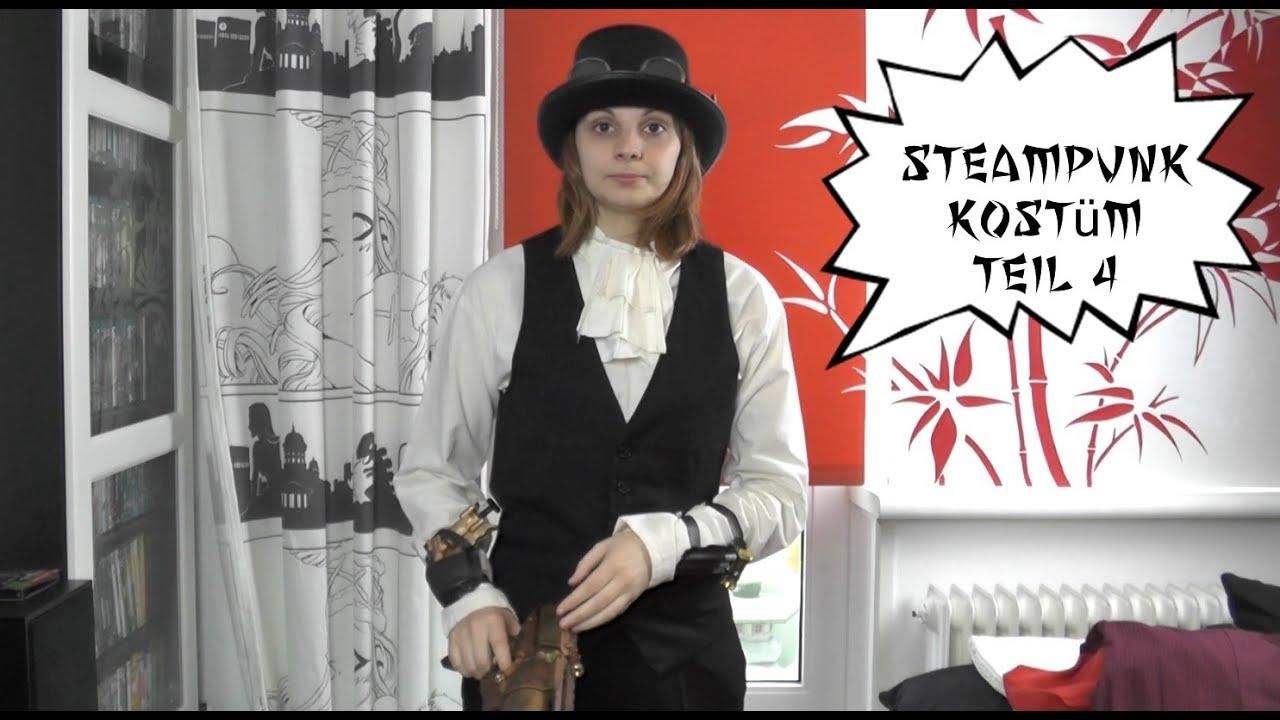 Steampunk Kostüm Teil 4 Das Herren Hemd Nerdy Workshop Ninnin