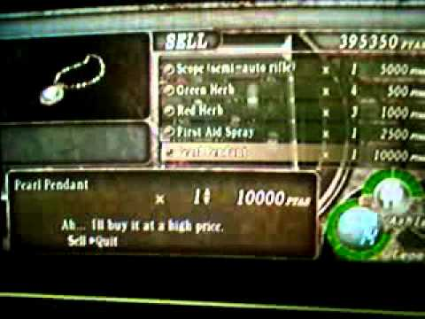 Resident Evil 4 Ps2 Cheat Code Cd Gameplay Youtube
