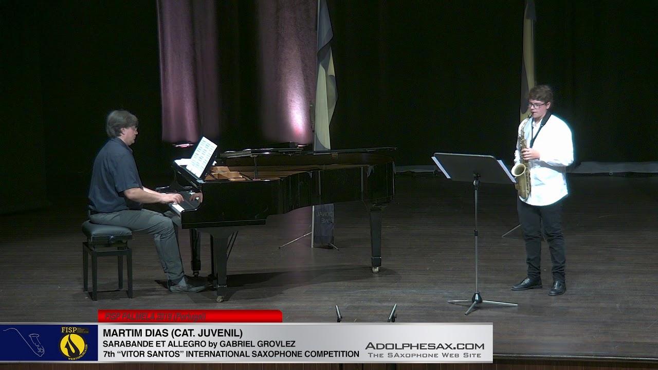 FIS PALMELA 2019 - Martin Dias -  Sarabande et Allegro by Gabriel Grovlez