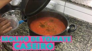 MOLHO DE TOMATE CASEIRO DA VOVÓ - Na Cozinha da Tamy