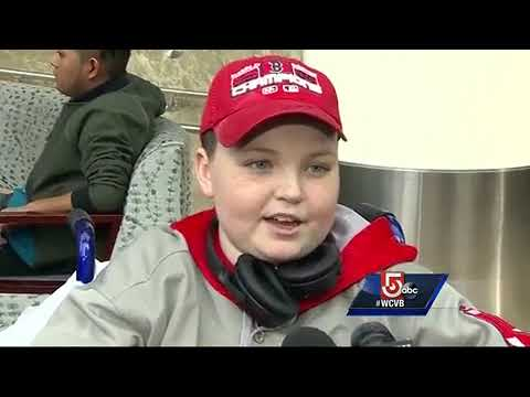 'I can't wait' Jimmy Fund kids leave to spring training