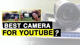 Best Camera for YouTube Videos | Review Of Sony DCR-SX65E HandyCam For Youtube 2018