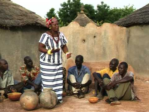Traditional burkinabe music