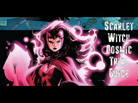Scarlet Witch Cosmic Trial Guide - Marvel Heroes Omega (PS4/XBOX)