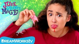 Ripping Off Your Tongue Trick | JUNK DRAWER MAGIC thumbnail