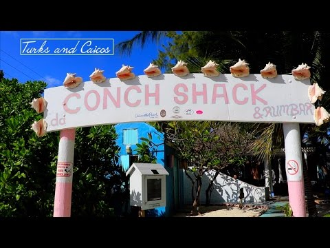 Conch Shack in Turks and Caicos