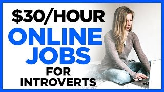 """No Phone"" Work At Home Jobs For Introverts and Quiet People"