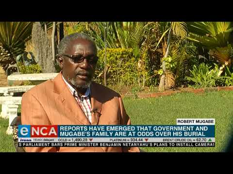 Government, Mugabe's family at odds over his burial: reports