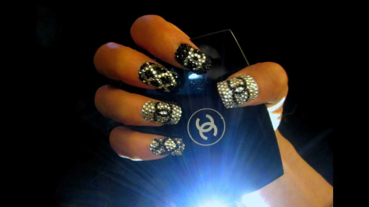 Chanel Nail Design Youtube