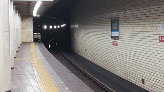 【台風19号による行き先変更!】名古屋市営地下鉄鶴舞線N3000形第1編成N3101H 庄内緑地公園行き 塩釜口到着