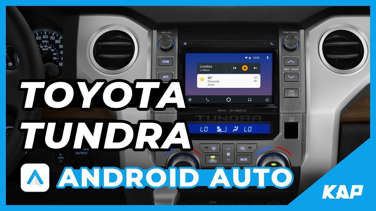 android auto toyota tundra