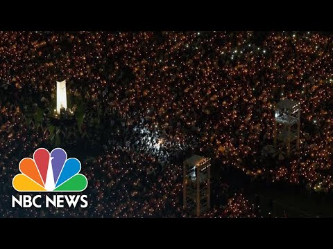 Thousands Attend Hong Kong Tiananmen Square Vigil   NBC News