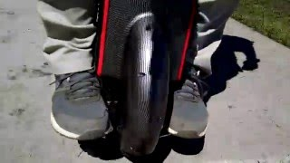 Electric unicycle fun!! Gotway Mcm v3 800w On my lunch break Let's Roll!!