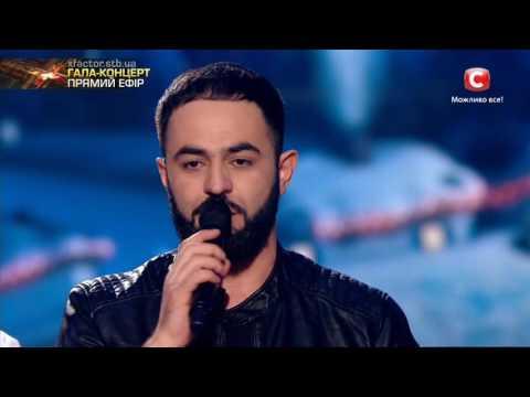 Видео: Севак Ханагян  - Слова победителя шоу Гала-концерт Х-фактор-7 24.12.2016