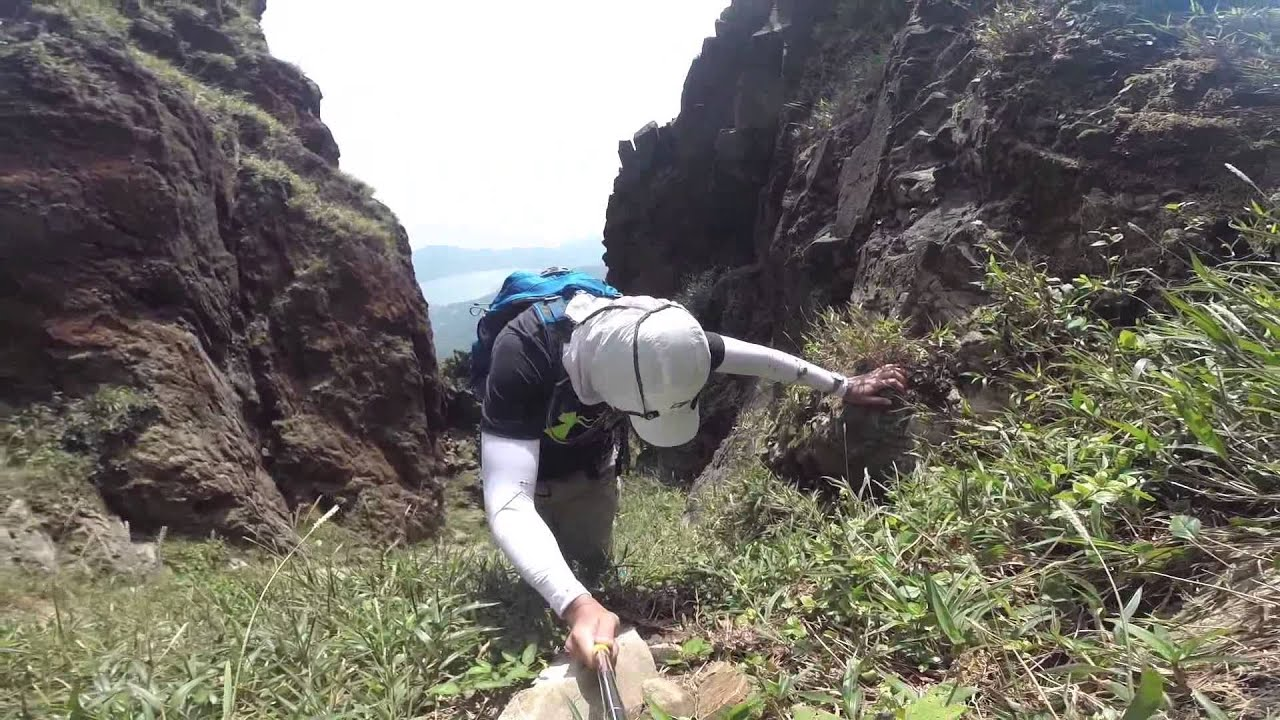 茶壺咀脊往南天門 - 2015年10月09日 - YouTube