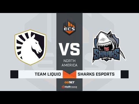 [RU] Liquid vs Sharks | Map 1: Vertigo | ECS Season 8 North America