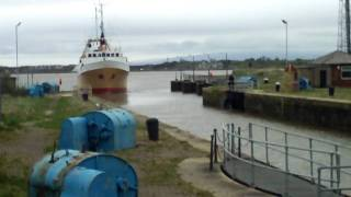 Fleetwood trawler Jacinta comes home