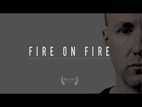 Sam Smith - Fire On Fire | Steve Peak (Cover) (Lyrics)