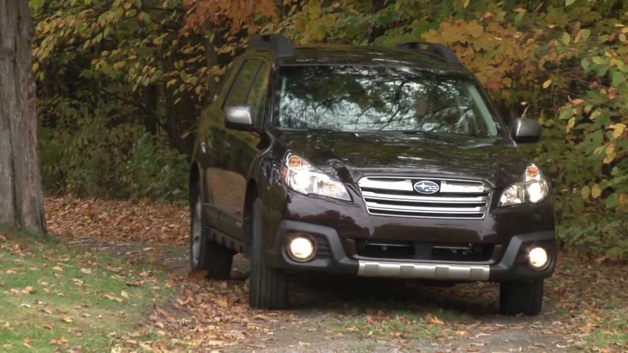 2013 subaru outback drive time review with steve hammes youtube vanachro Images