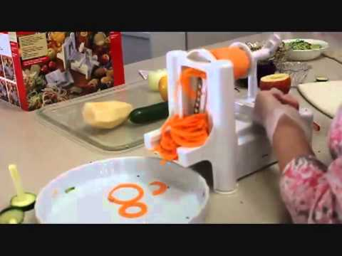 Paderno world cuisine spiral vegetable slicer youtube - Paderno world cuisine spiral vegetable slicer ...