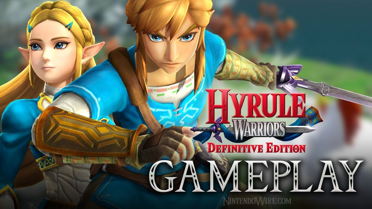 Hyrule Warriors Definitive Edition Breath Of The Wild Costume Gameplay Nintendo Switch Youtube