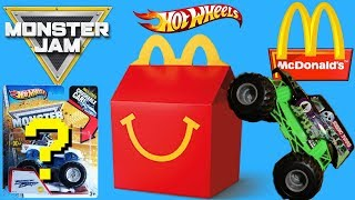 HOT WHEELS MONSTER JAM MONSTER TRUCKS ULTIMATE EPIC McDonald